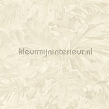 Exotische bladcombi behang Rasch Mandalay 529227