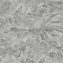 Exotische bladcombi behang Rasch Mandalay 529241