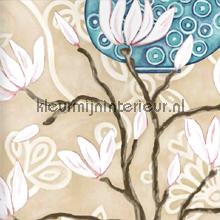 In bloom beige wallpaper papier peint Origin Mariska Meijers 339-346923