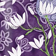 In bloom purple wallpaper papier peint Origin Mariska Meijers 339-346924