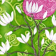 In bloom green wallpaper papier peint Origin Mariska Meijers 339-346926