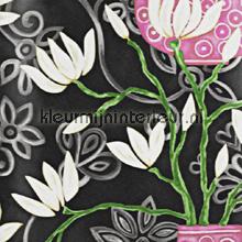 In bloom black wallpaper papier peint Origin Mariska Meijers 339-346927