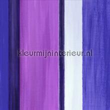 Painted stripes purple wallpaper papier peint Origin Mariska Meijers 339-346933