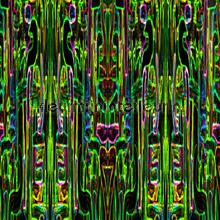 Jungle fever rectangular green wallprint papier peint Origin Mariska Meijers 339-356905