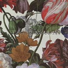 Stilleven met bloemendessin ecru papier peint Eijffinger Masterpiece 358005