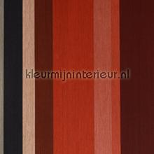 Textiellook streepdessin gedempte kleure papier peint Eijffinger Masterpiece 358021