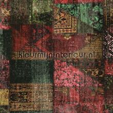 Kelim tapijtlook bont papier peint Eijffinger Masterpiece 358030