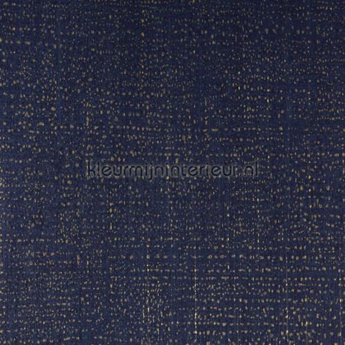 Diep blauw met gouden touch behang 358060 Interieurvoorbeelden behang Eijffinger