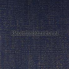 Diep blauw met gouden touch papier peint Eijffinger Masterpiece 358060
