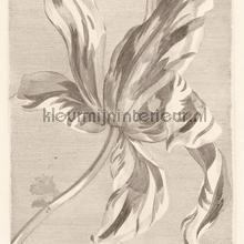 Tulip tyler sepia fotobehang Eijffinger Masterpiece 358117