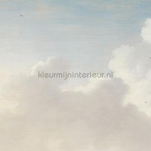 Dutch sky stripes blue photomural 358120 Masterpiece Eijffinger