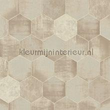 Honingraat beton tapet AS Creation Materials 363301