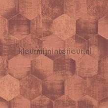 Honingraat beton tapet AS Creation Materials 363305
