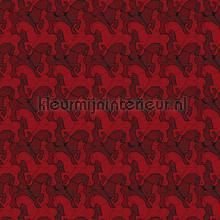 Escher Horseman wallpaper behang Arte exclusief