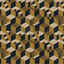 Escher Cube houses wallpaper carta da parati Arte MC Escher 23153