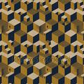 Escher Cube houses wallpaper