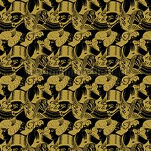 Escher Eight heads wallpaper carta da parati Arte MC Escher 23163