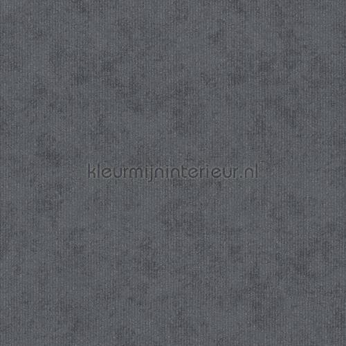 Uni donkergrijs met glitterbelijning papel pintado 125811 Memory 3 AS Creation