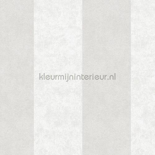 Streep 13 cm warmgrijs lichtgrijs tapeten 953732 Memory 3 AS Creation