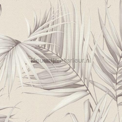 Palm bladeren tapeten 36505-2 Metropolis Dream Again AS Creation