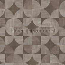 Copenhagen graphic woodwork wallcovering AS Creation wallpaper by meter