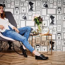 Paris fashion papel pintado AS Creation adolescente