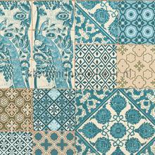 Tegel patchwork zeegroen tapeten AS Creation Metropolitan Stories 36923-3