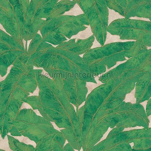 Exotisch blad behang tapet 36927-3 romantisk moderne AS Creation
