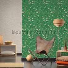 Exotisch blad behang wallcovering AS Creation Vintage- Old wallpaper