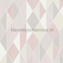 Diagonaal ruitritme papel de parede BN Wallcoverings Wallpaper creations