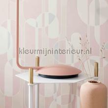 Boogvormen sixties papel de parede BN Wallcoverings Wallpaper creations