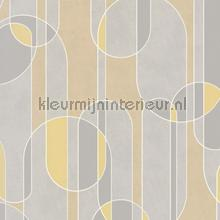 Boogvormen sixties behang BN Wallcoverings Modern Abstract