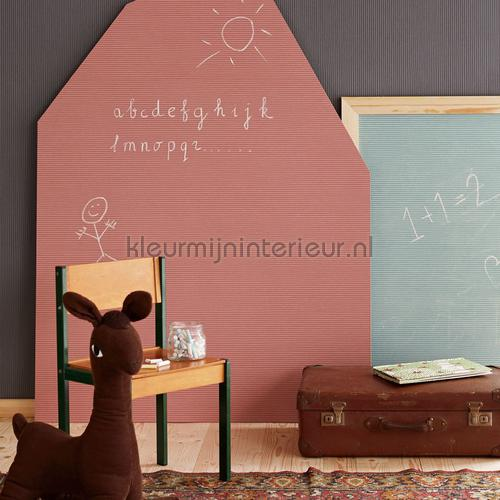 Krijtbord strepen papel pintado 399021 niñas Eijffinger
