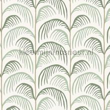 Gebogen palmblad ritmiek papel pintado Eijffinger Mini Me 399070