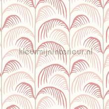 Gebogen palmblad ritmiek papier peint Eijffinger Wallpaper creations
