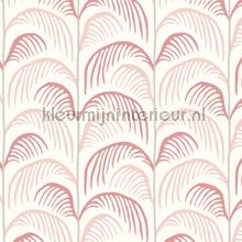 Gebogen palmblad ritmiek papel pintado 399071 niñas Eijffinger