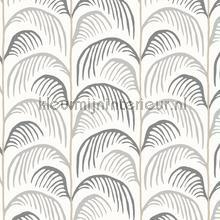 Gebogen palmblad ritmiek papel pintado Eijffinger Mini Me 399072
