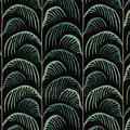 Gebogen palmblad ritmiek niños niños
