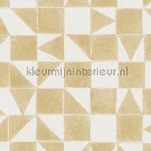 gerasterde blokjes en driekhoekjes papel pintado Eijffinger Mini Me 399093