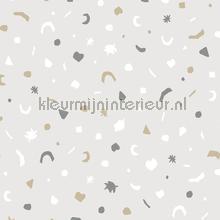 gestrooide figuurtjes papel pintado Eijffinger Mini Me 399101