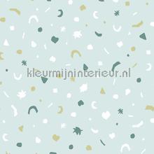 gestrooide figuurtjes papel pintado Eijffinger Mini Me 399102