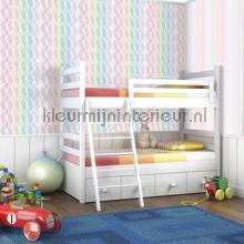 Mix ruiten kleurrijk pastel behang JW3746 Mix and Match Behang Expresse