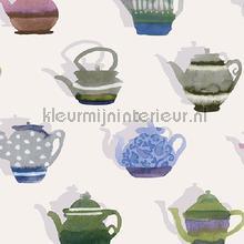 Pottenverzameling behang Behang Expresse Mix and Match JW3721