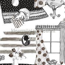 Interieur behang zwart wit papier peint Behang Expresse Mix and Match JW3728
