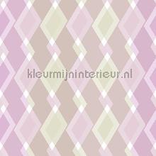 Mix ruiten paarstinten papier peint Behang Expresse Mix and Match JW3748