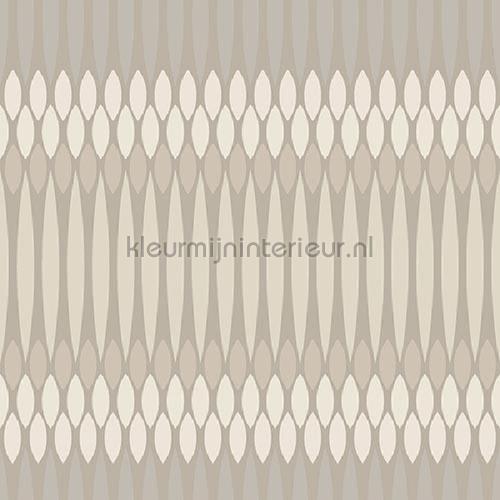 Horizontaal ritme beige behang JW3761 Mix and Match Behang Expresse