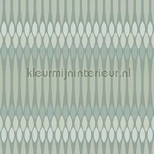 Horizontaal ritme zacht groen behang Behang Expresse Mix and Match JW3762