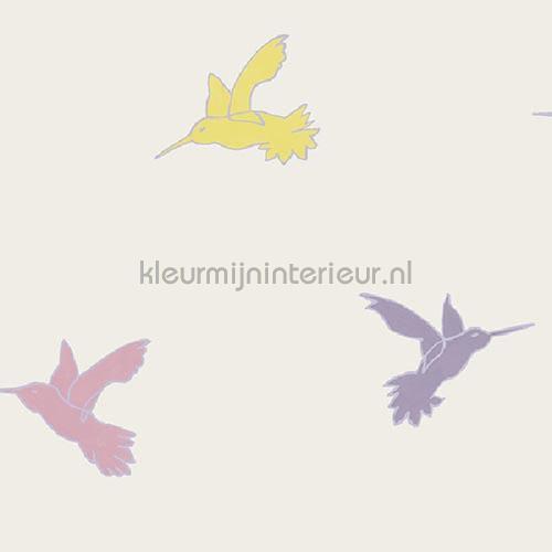Vliegende kolibri behang JW3768 Mix and Match Behang Expresse