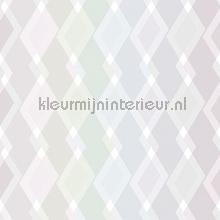Mix ruiten kleurrijk pastel papier peint Behang Expresse Mix and Match JW3746
