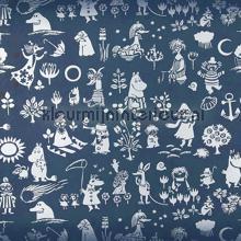 Moomin characters wallcovering Sandudd Moomin 5164-1